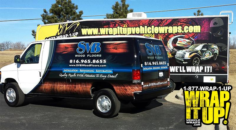SVB Van wrap