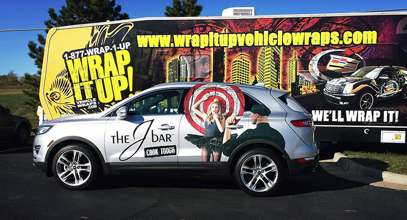 The J Bar SUV Wrap Decals
