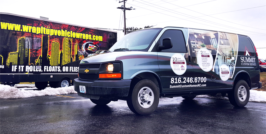 Van Wrap, Vehicle Wraps