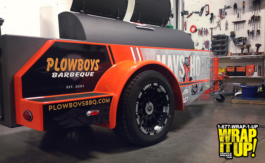 Plowboys Trailer Wrap