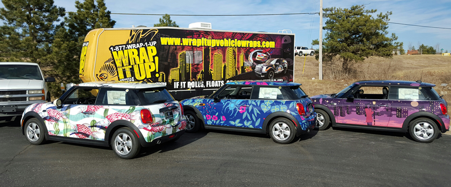 Art Institute Vehicle Wrap