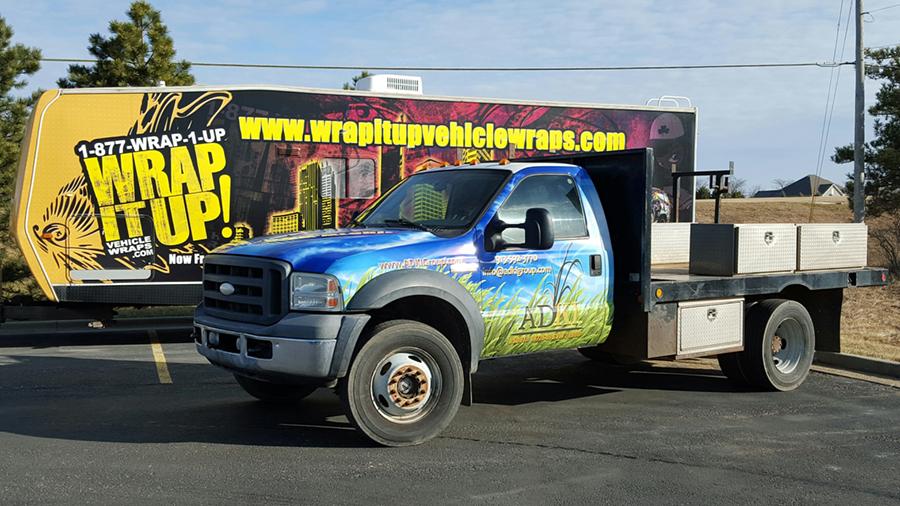 ADKI truck wrap
