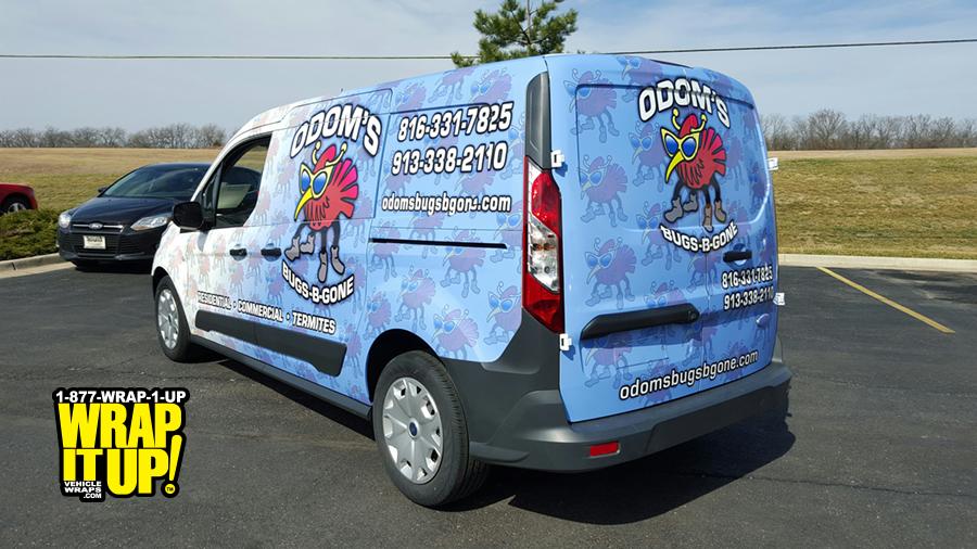 Odom's Van Wrap