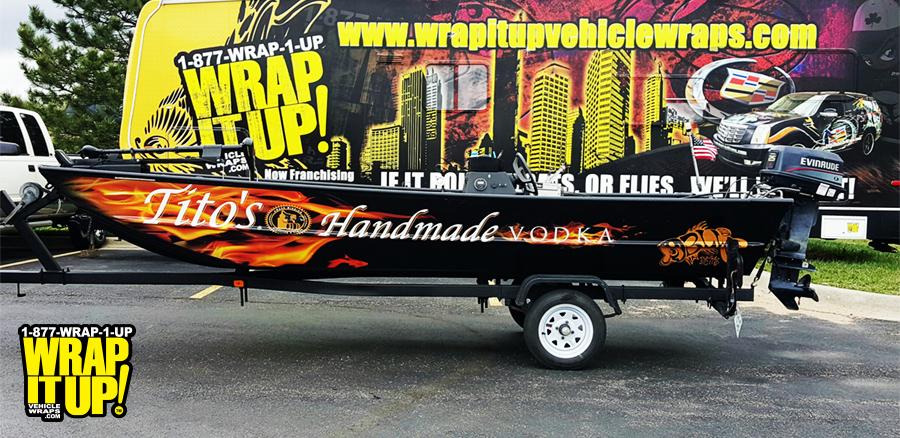 Tito's Boat Wrap