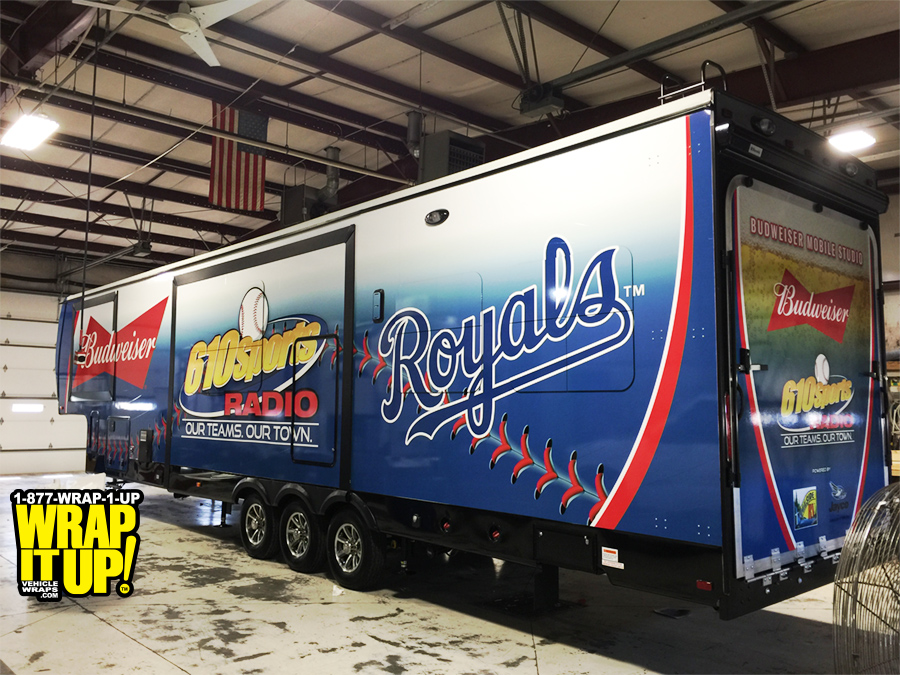 Royals Trailer Wrap