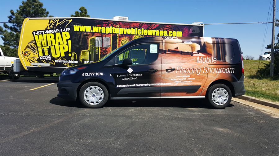 International Van Wrap