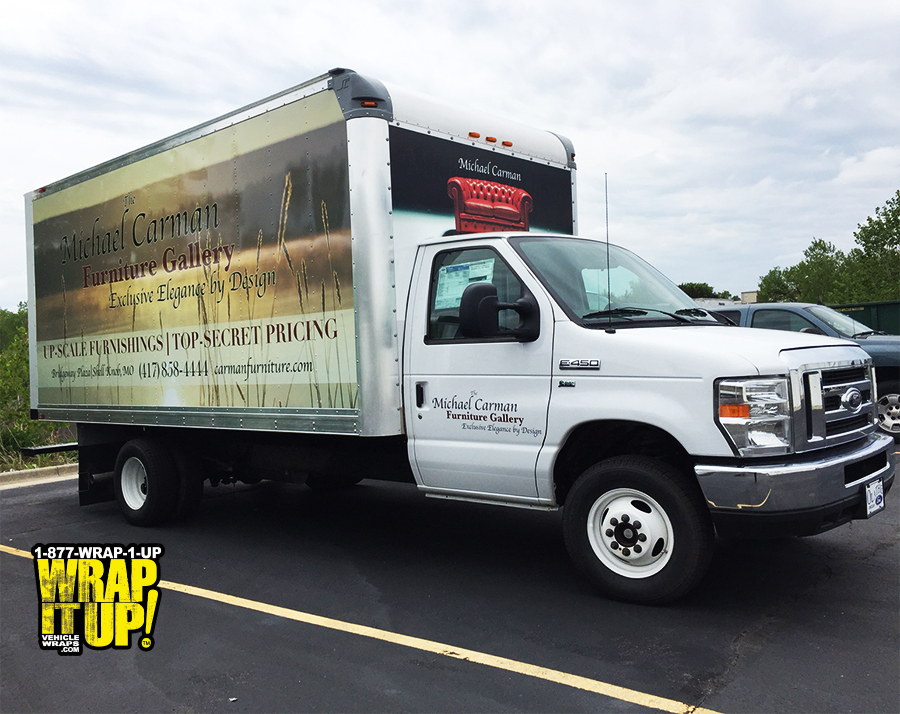 Michael Carman Furniture Wrap