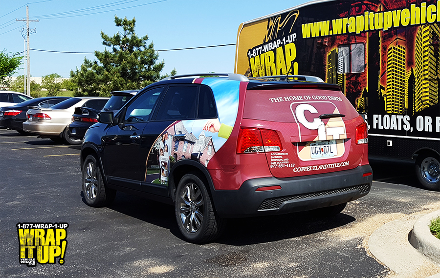 Coffelt SUV Wrap