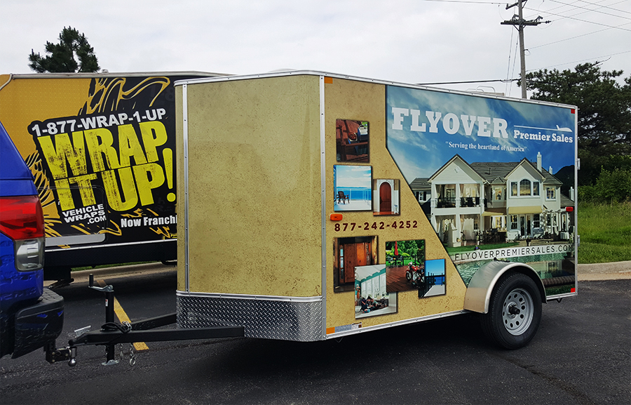 Flyover Trailer Wrap