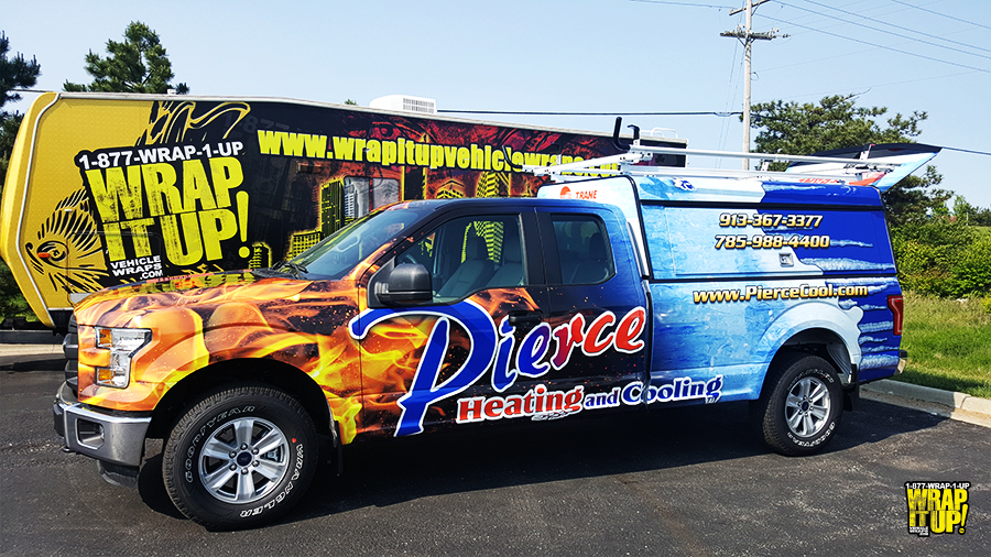 Pierce Truck Wrap