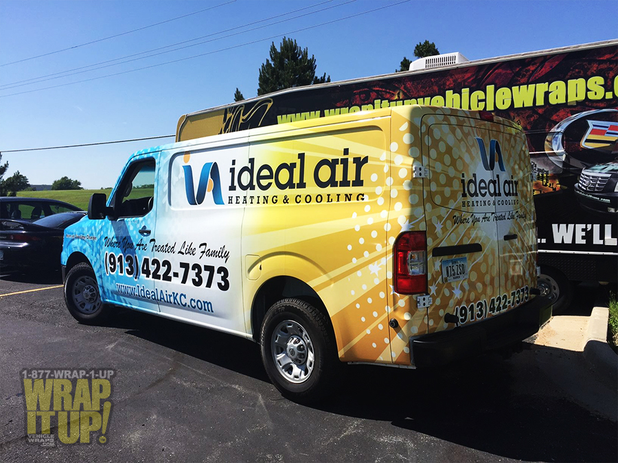 Ideal Air Van Wrap