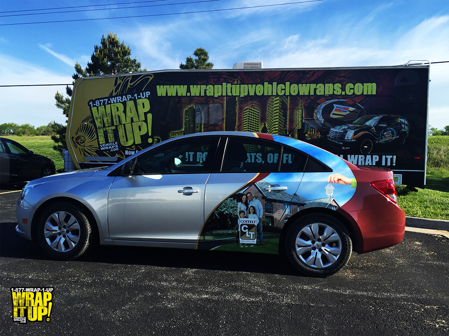 Coffelt Vehicle Wrap