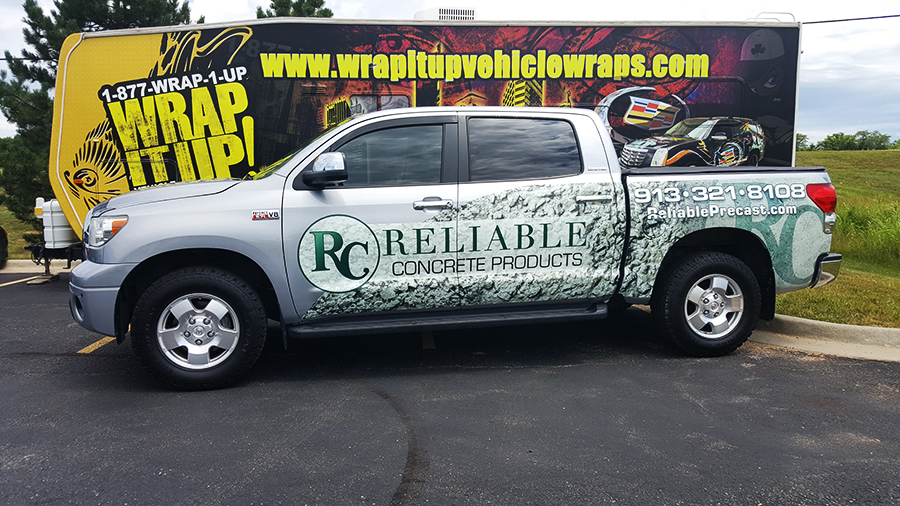 Reliable Truck Wrap