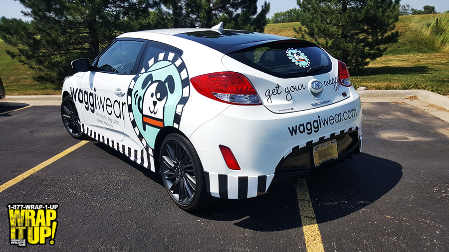 Waggie Wear Vehicle Wrap
