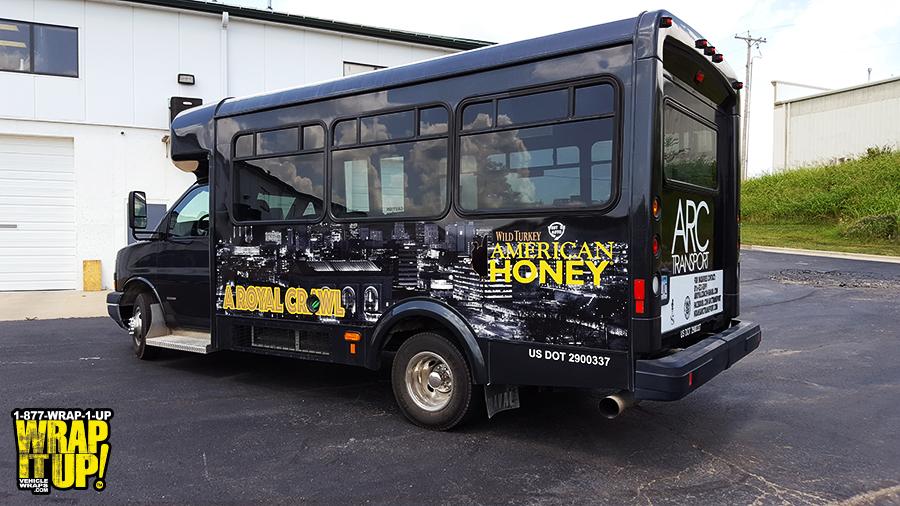 American Honey Bus Wrap
