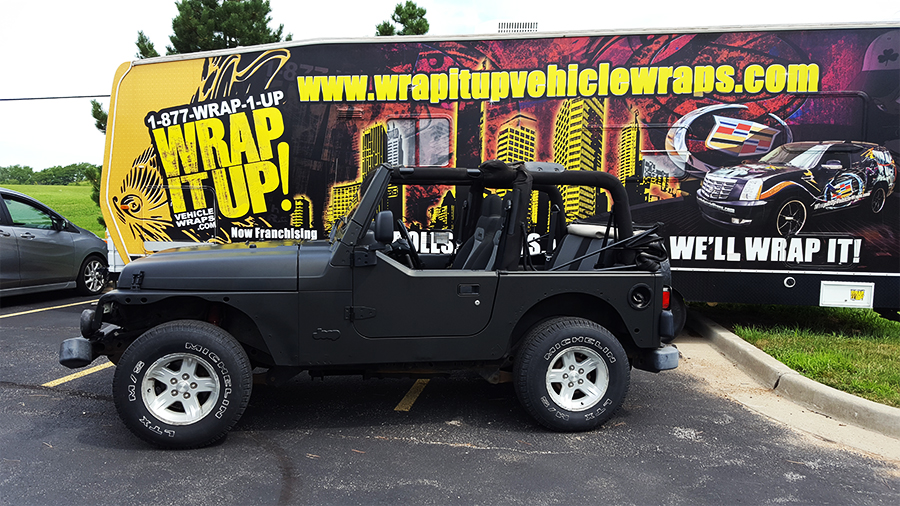 Harley Davidson Jeep Wrap