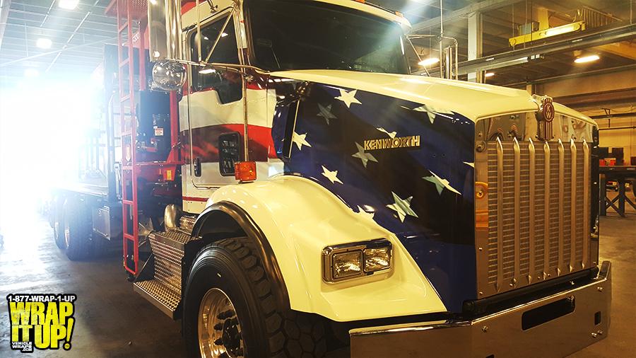 Holmes Truck Wrap