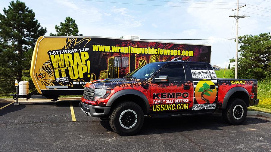 USSD Truck Wrap