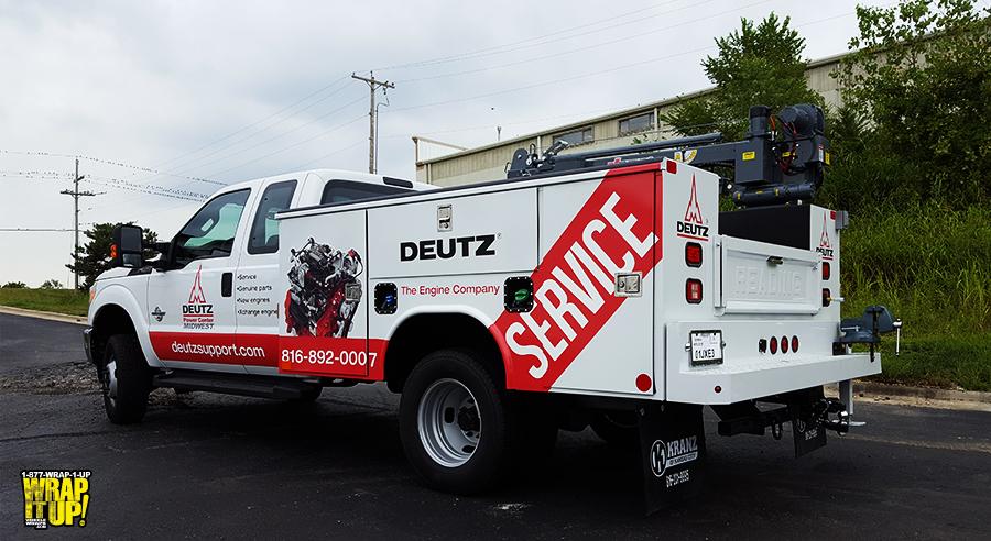 Deutz Truck Wrap