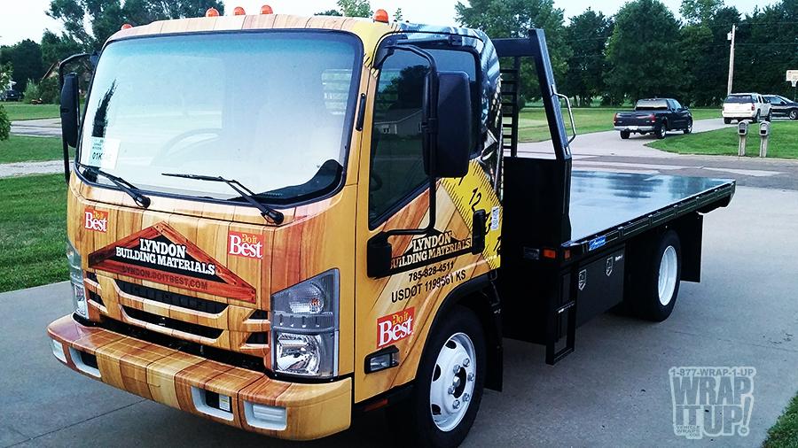 Lyndon Truck Wrap