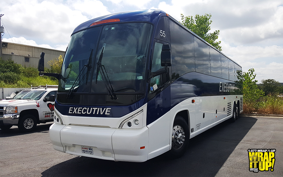 Executive Bus Wrap