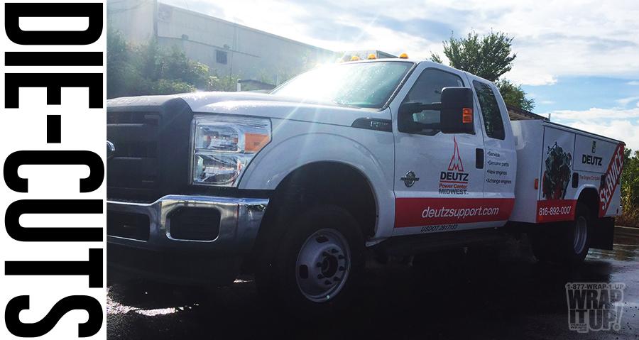 Truck Wrap Deutz2