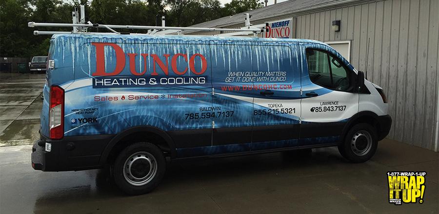 Dunco Van Wrap