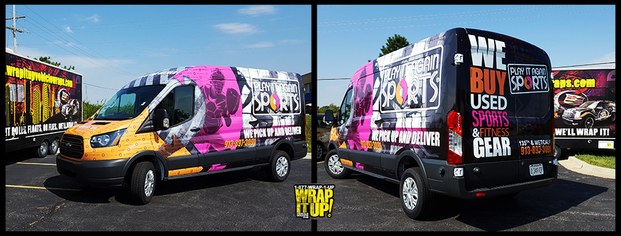 Play It Again Van Wrap