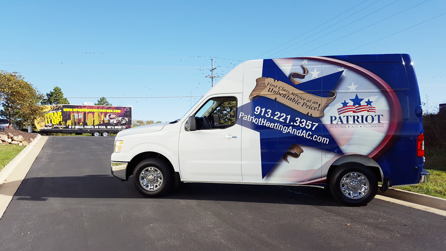Patriot Van Wrap