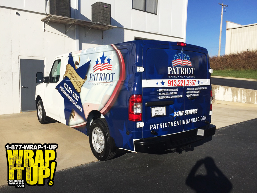 Patriot Van Wrap