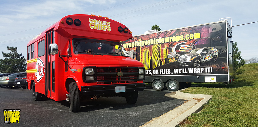 Chiefs Bus Wrap