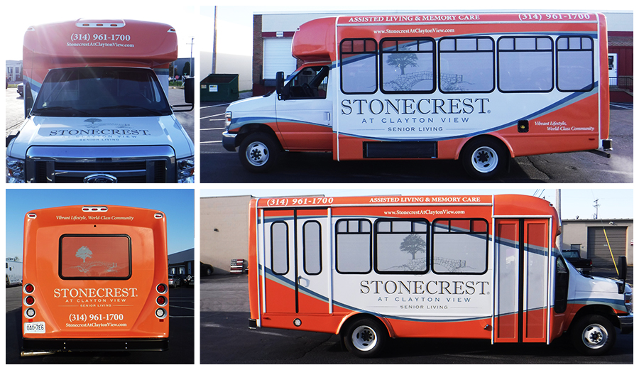Stonecrest Bus Wrap