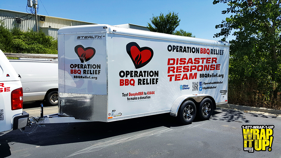 Operation BBQ Trailer Wrap