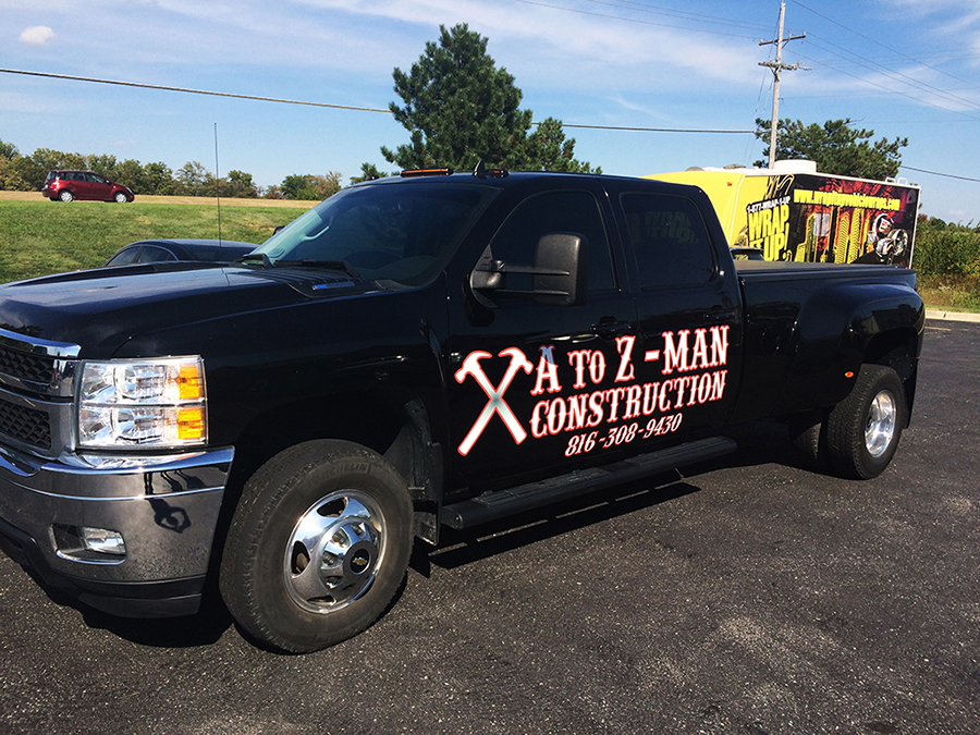 A to Z Truck Wrap