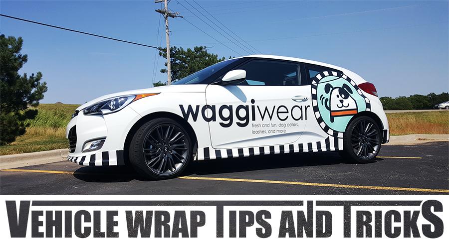 Waggi Wear Vehicle Wrap