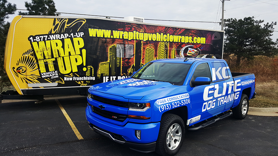 KC Elite Truck Wrap