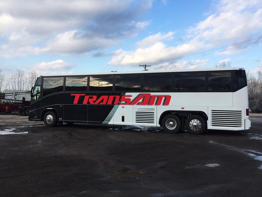 Transam Bus Wrap