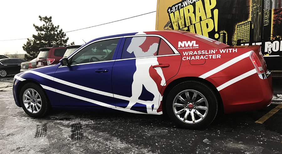 NWL car wrap