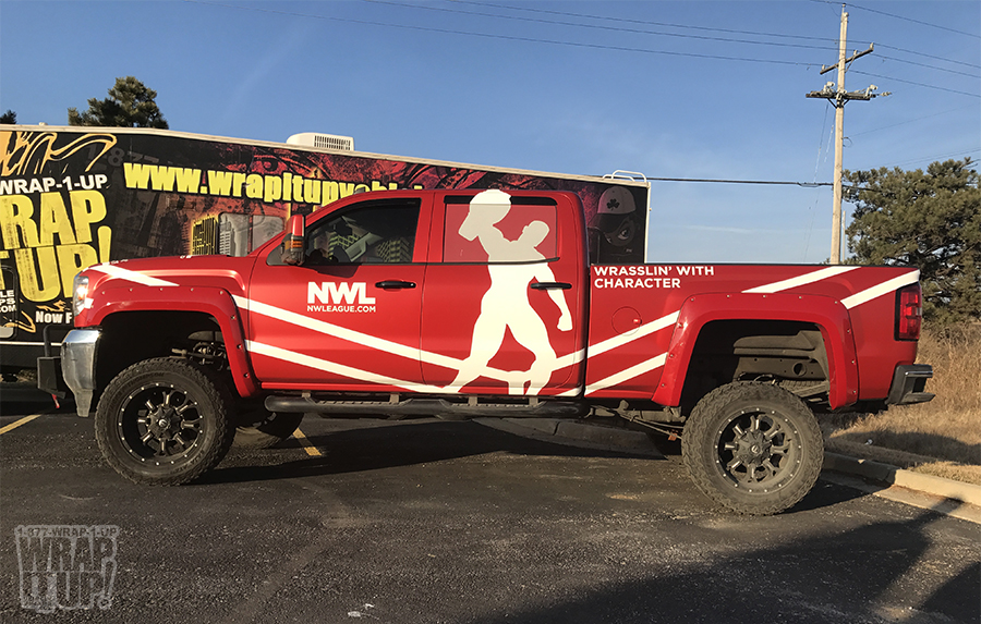 NWL Truck Wrap