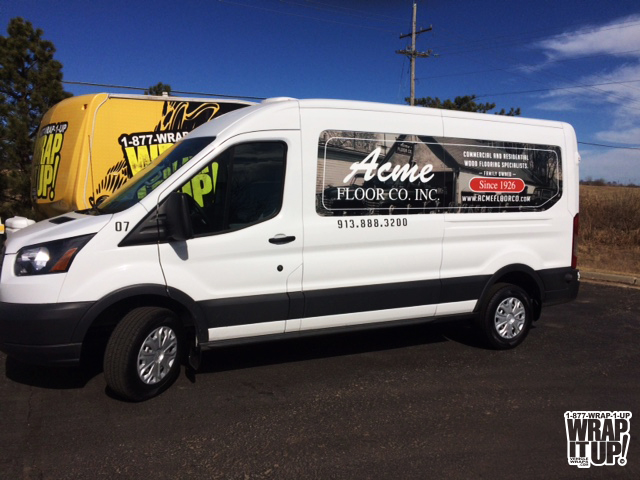 Acme Floor Vehicle Wrap