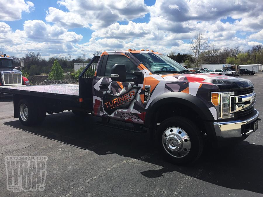 Turner Truck Wrap
