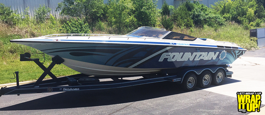 Fountain Boat Wrap