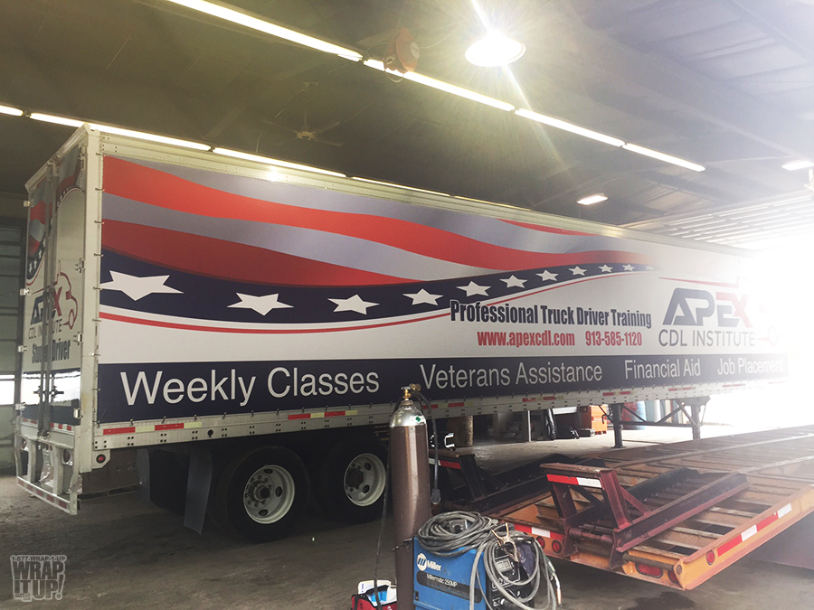 Apex Trailer Wrap