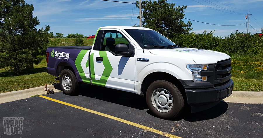 Site One Truck Wrap