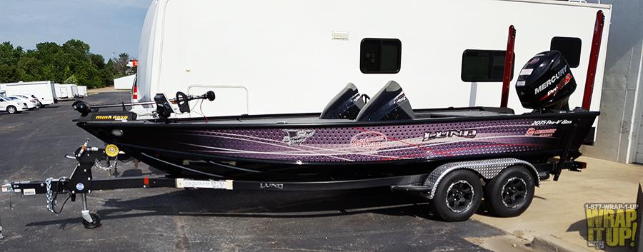 Lund Boat Wrap