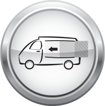 wrap it up truck icon