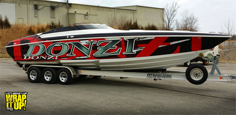 Chris Anderson Boat Wrap