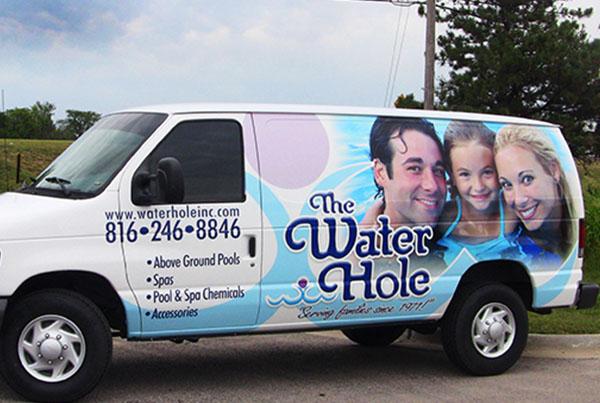the water hole van side