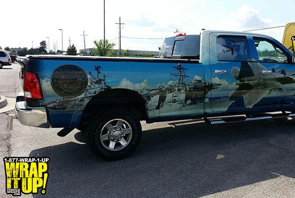 camo side truck