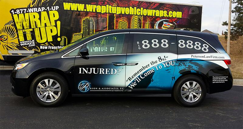 Peterson Law Firm Van